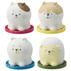 Karatto Mascot Round Terracotta Animal Dehumidifier Collection