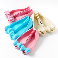 FLAPPER Ribbon Pumps