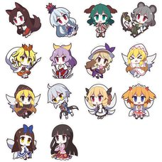 Touhou Project Yurutto Touhou Acrylic Keychain Charm Collection Vol. 4