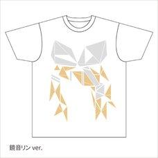 Hatsune Miku Summer Festival Geometric Kagamine Rin T-Shirt