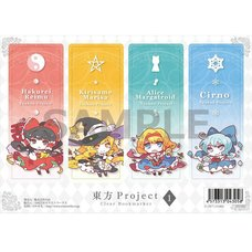 Touhou Project Mokyu Fuwa Clear Bookmarks