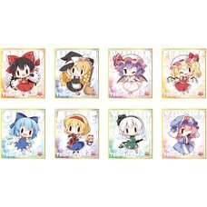 Touhou Project Mini Shikishi Board Collection Vol. 4 Box Set
