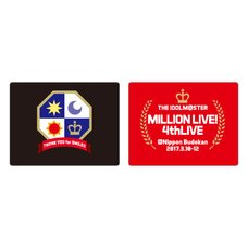 The Idolm@ster Million Live! 4th Live: Th@nk You for Smile!! Official Wristband Set