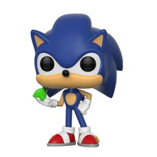 Pop! Games: Sonic the Hedgehog - Sonic w/ Emerald