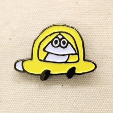 error403 Yellow Pin Badge