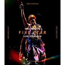 Kensho Ono Live Tour 2018 Five Star Live Blu-ray