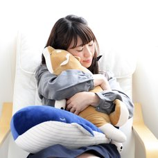 Premium Nemu Nemu Animals Hug Pillows