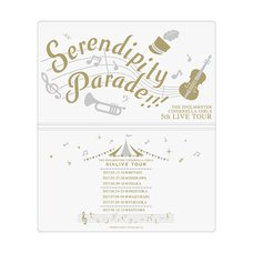 The Idolm@ster Cinderella Girls 5th Live Tour: Serendipity Parade!!! Official Ticket Case