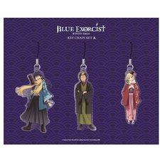 Blue Exorcist Kyoto Saga Acrylic Strap Set