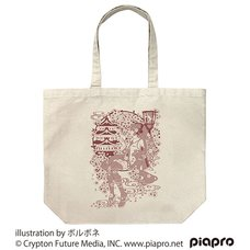Sakura Miku Borubone Ver. Natural Large Tote Bag