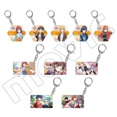 The Idolm@ster: Shiny Colors After School Climax Girls Acrylic Keychain Collection Box Set