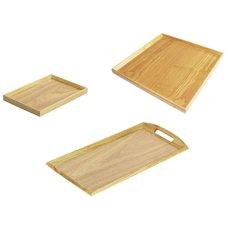 Natural Wood Trays