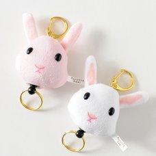 Marutto Reel Rabbit Keychains