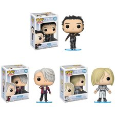Pop! Anime: Yuri!!! on Ice - Complete Set