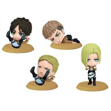 Attack on Titan Chibi Kyun Chara Figures