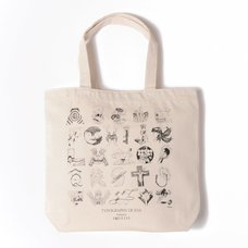 Typography of Eva Index Tote Bag