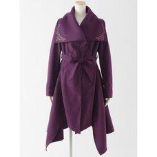 Rozen Kavalier Irregular Hem Coat A
