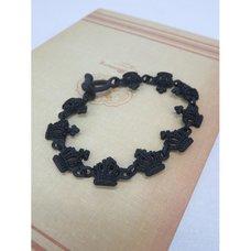 Black Crown Necklace