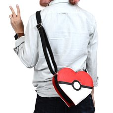 Loungefly x Pokémon Heart-Shaped Poké Ball Crossbody Bag