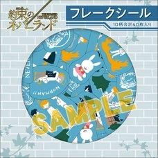 Promised Neverland Yuru Palette Flake Stickers