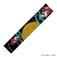 Hatsune Miku x Hard Rock Family Live Collaboration Muffler Towel