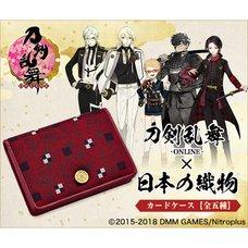 Touken Ranbu -Online- Japanese Fabric Card Case Collection
