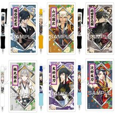 Touken Ranbu -ONLINE- Kassen Ballpoint Pens Vol. 7