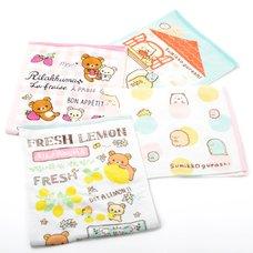 Rilakkuma/Sumikko Gurashi Face Towels