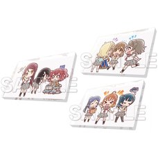 Love Live! General Magazine Vol. 1: Love Live! Sunshine!! Aqours Acrylic Magnet Collection