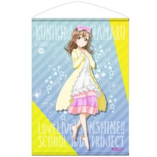 Love Live! Sunshine!! Hanamaru Kunikida Pajamas Ver. B2-Size Wall Scroll
