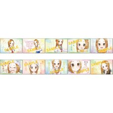 Karakai Jozu no Takagi-san Square Badge Collection Box Set