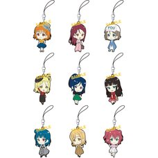 Love Live! Sunshine!! Rubber Strap Collection Original Spring Clothes Box Set