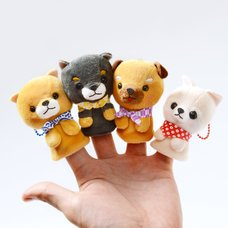 Mameshiba San Kyodai Dog Finger Puppets