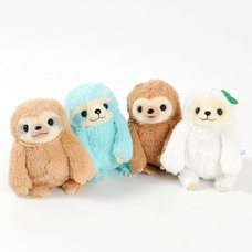 Namakemono Mikke Sloth Plush Collection (Standard)