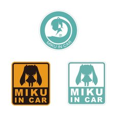 DBC x Hatsune Miku Car Sticker Set