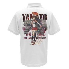Kantai Collection -KanColle- Yamato Full-Color White Polo Shirt