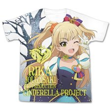 The Idolm@ster Cinderella Girls My First Star!! Rika Jougasaki Graphic T-Shirt