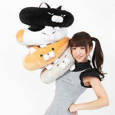 Hige Manjyu Dodeca Cat Donut Cushions