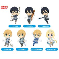 Nendoroid Plus: Sword Art Online: Alicization Collectible Keychains Box Set