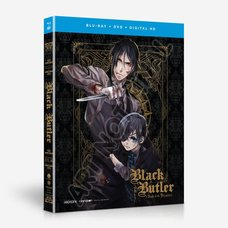 Black Butler: Book of the Atlantic Blu-ray /DVD Combo Pack w/ UltraViolet Digital Copy