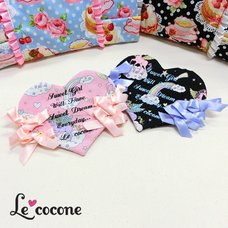 Le cocone Unicorn Heart-Shaped Pouch