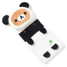 Rilakkuma Panda de Goron Toilet Paper Roll Cover