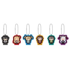 Sword Art Online the Movie: Ordinal Scale Acrylic Keychain Set