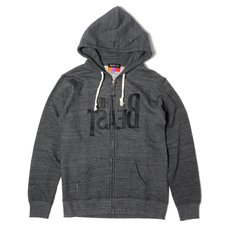The Beast Zip Hoodie (Vintage Heather Charcoal)