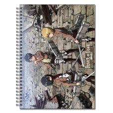 Attack On Titan Spiral-Bound Notebooks