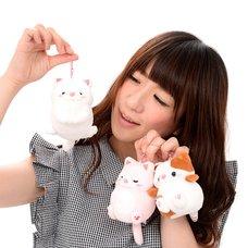 Mocchiri Neko no Kinako Ball Chain Plush Collection