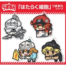 Cells at Work! Tsumamare Keychain Collection