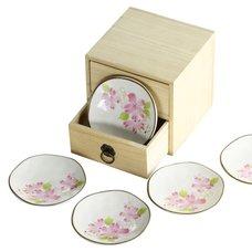 Hana Misato Mino Ware Small Dish Gift Set