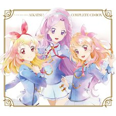 TV Anime Data Carddass Aikatsu! Complete CD Box (Limited Edition)