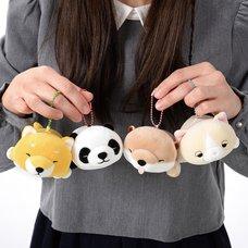 Mochi-fuwa Nemukko Animal Plush Collection (Ball Chain)